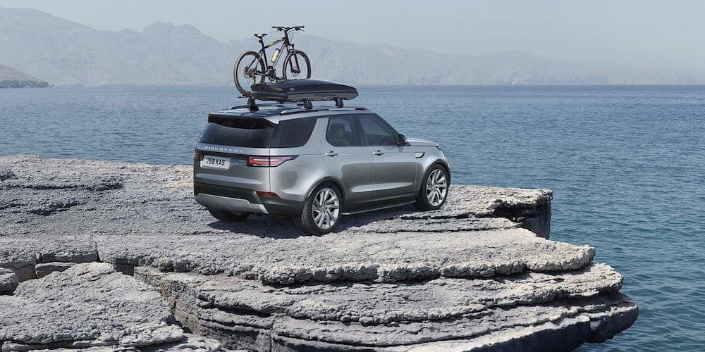 2019 discovery with bike rack