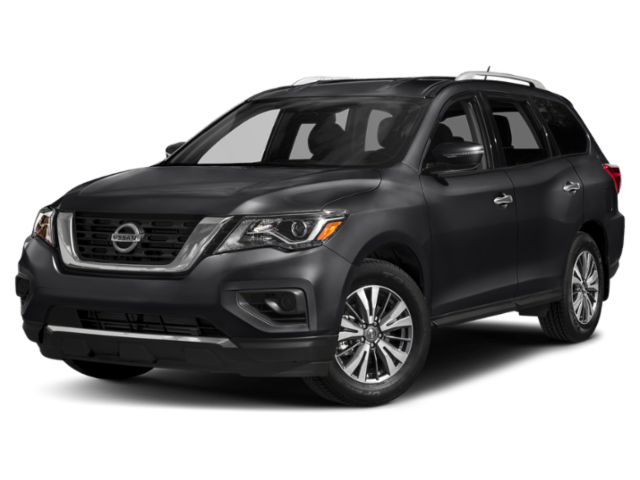 2019 nissan pathfinder side view