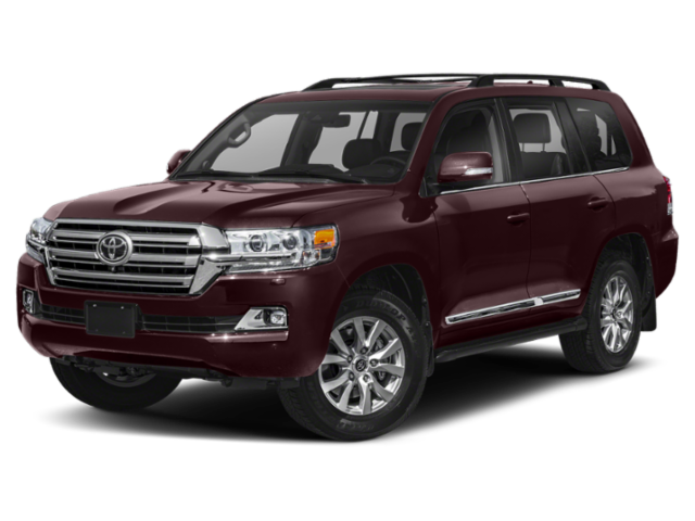 Red 2019 Land Cruiser