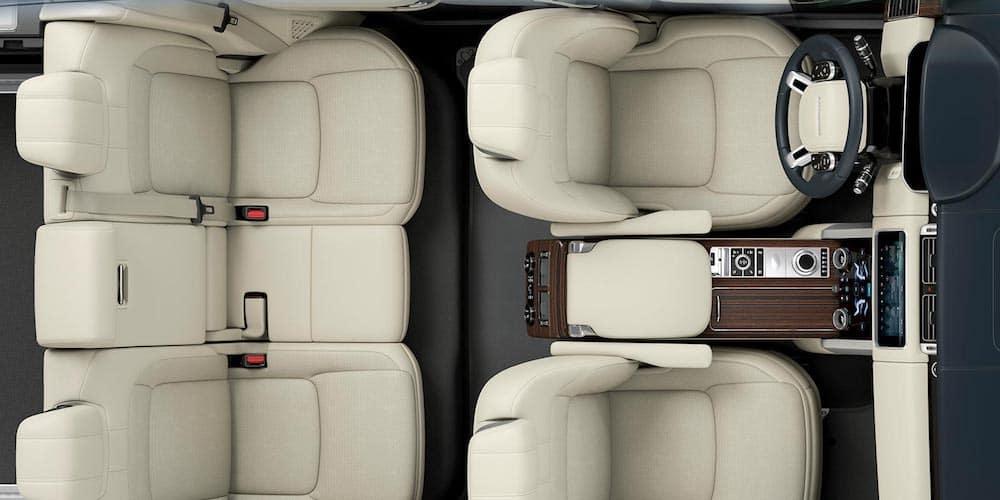 2020 Range Rover Overhead Interior View