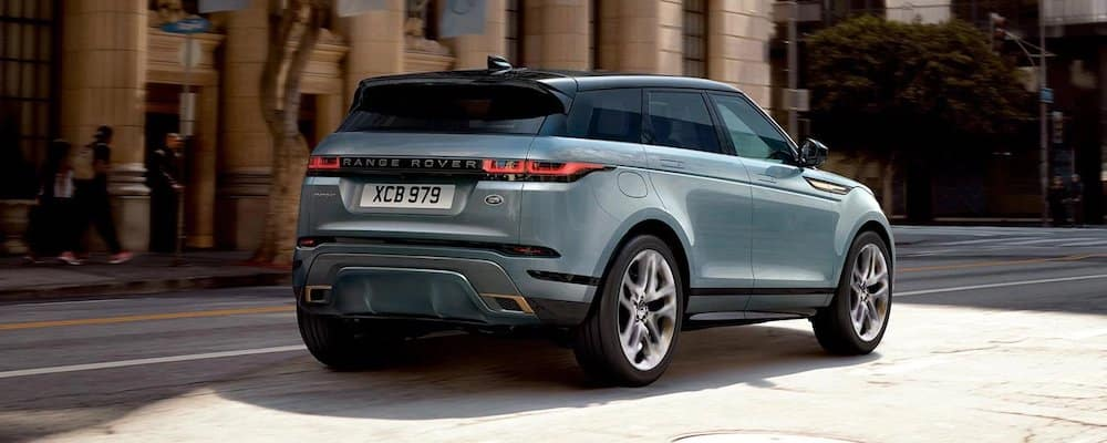 2020 Range Rover Evoque on City Street
