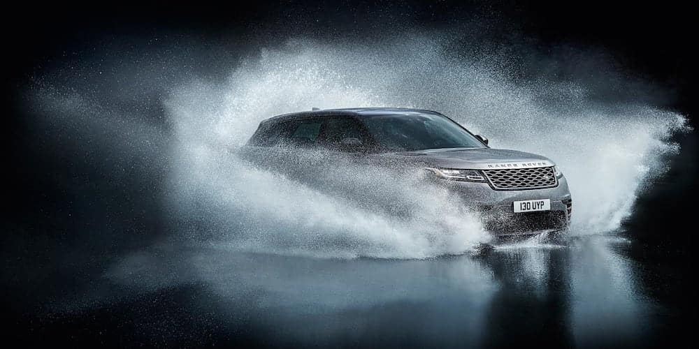 2020 Range Rover Velar Driving Through Water