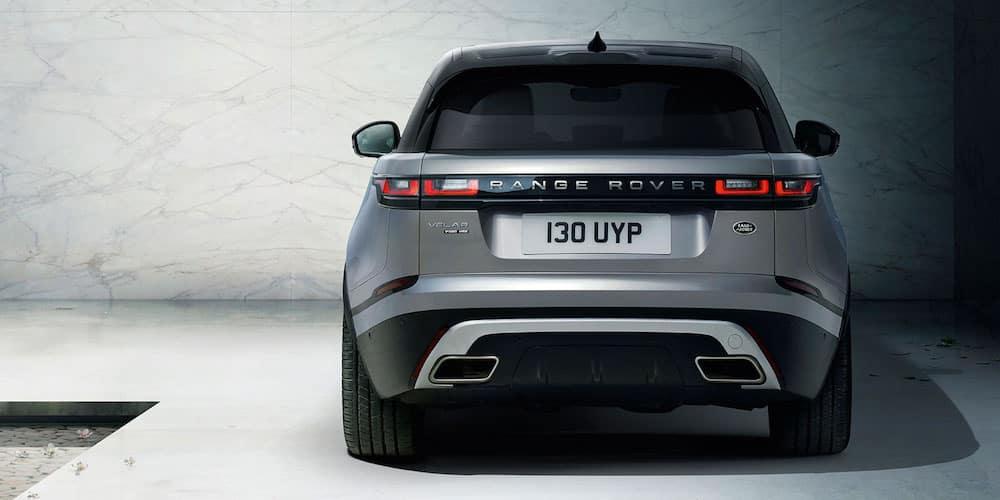 Silver 2020 Range Rover Velar Rear Image