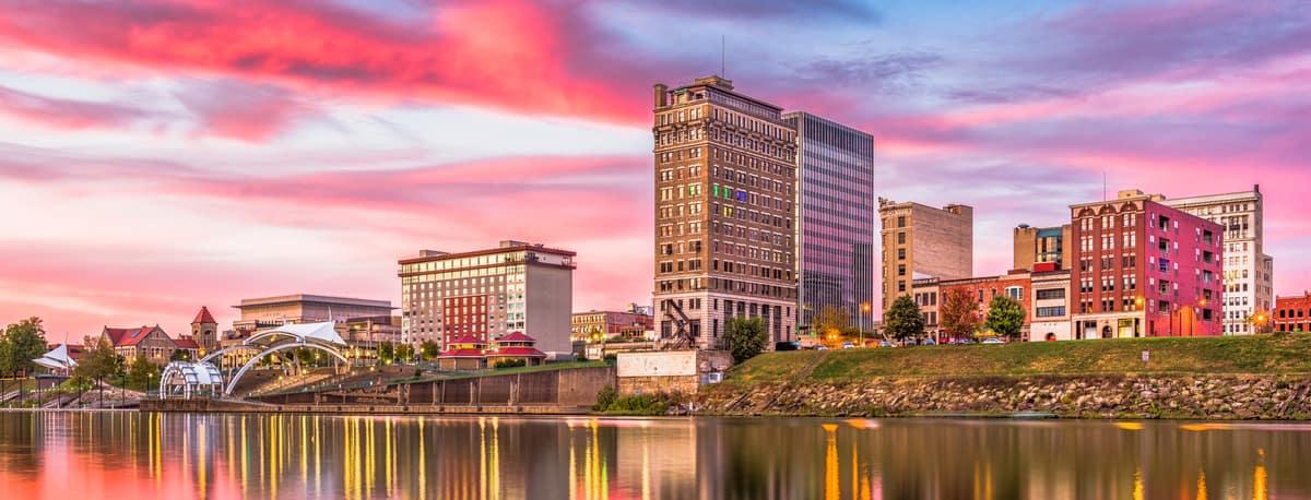 Charleston West Virginia Skyline