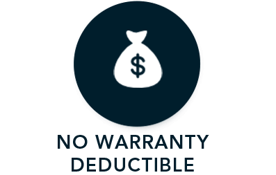 No Warranty Deductible