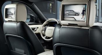 2018 Range Rover Velar rear entertainment
