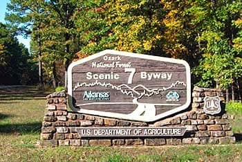 Scenic Byway 7 in Arkansas
