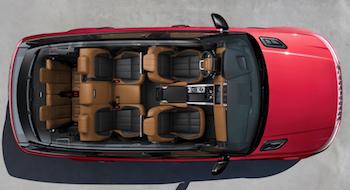2018 Range Rover Sport cabin
