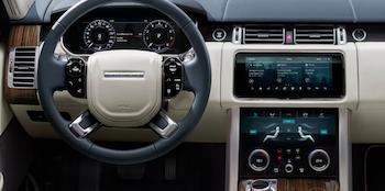 2018 Land Rover Range Rover dashboard