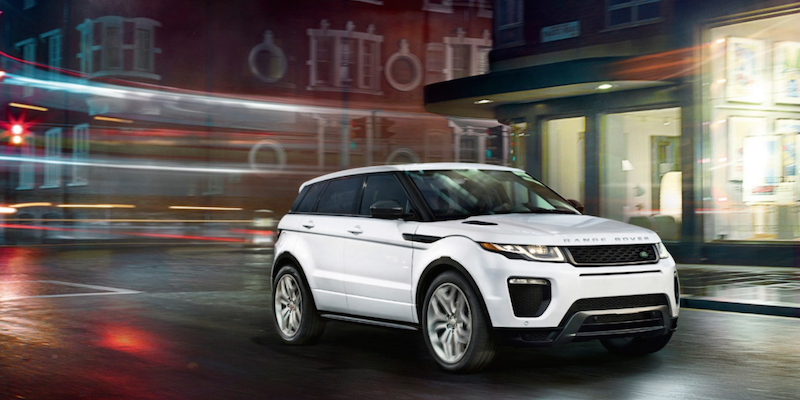 2018 Range Rover Evoque available in Little Rock