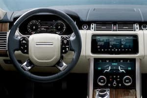 2019 Range Rover PHEV dashboard