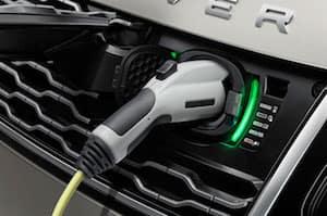 2019 Range Rover PHEV plug