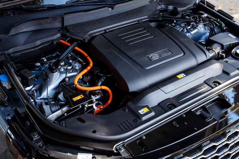 Land Rover engine