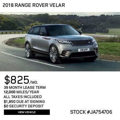 New 2018 Land Rover Range Rover Velar P380 S 4WD