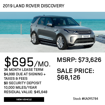 New 2019 Land Rover Discovery HSE Luxury 4WD