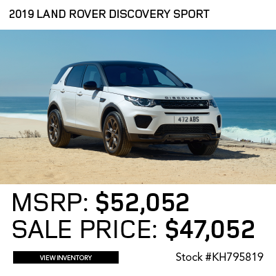 New 2019 Land Rover Discovery Sport Landmark Edition 4WD