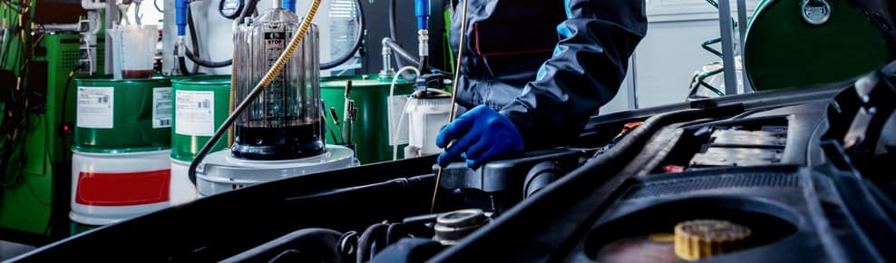Land Rover Oil Information