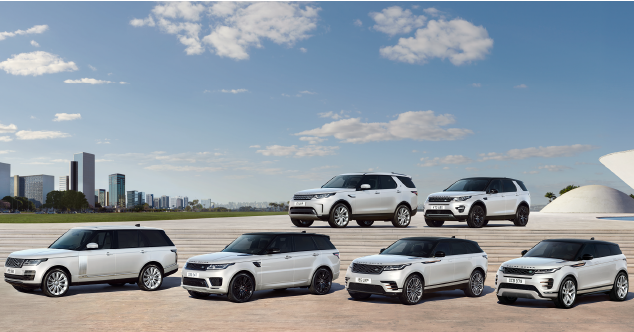 2020 Land Rover Range Rover Velar, Evoque, Discovery, and Discovery Sport models