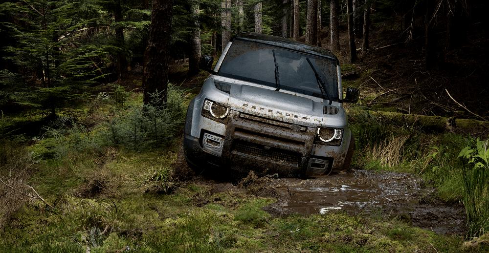 2020 Land Rover Defender Mud