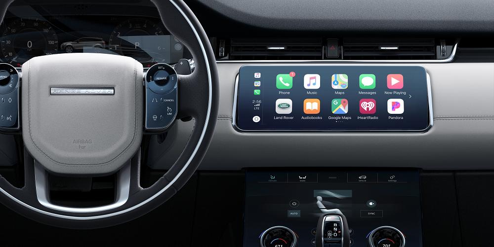 2020 Range Rover Evoque Technology Features