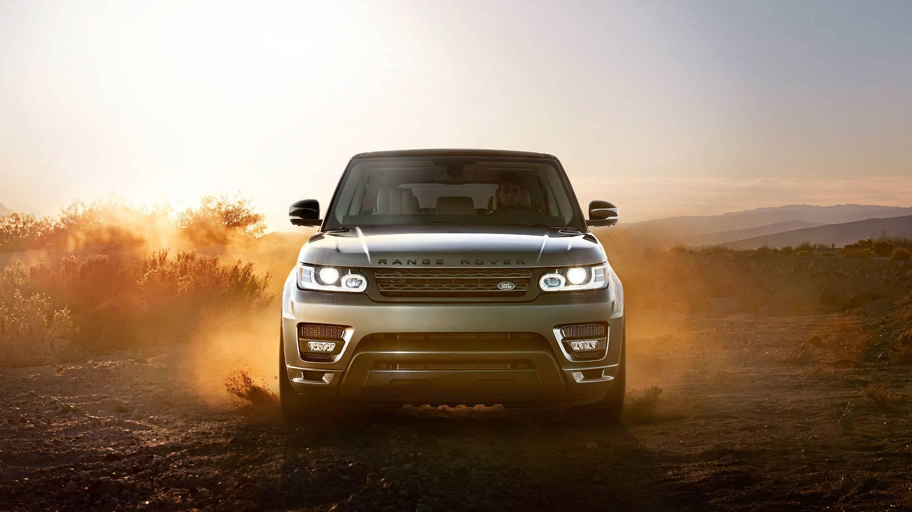 2017 Land Rover Range Rover Sport front view