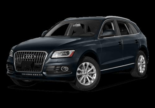 2017 Audi Q5 white background