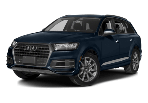 2017 Audi Q7 white background