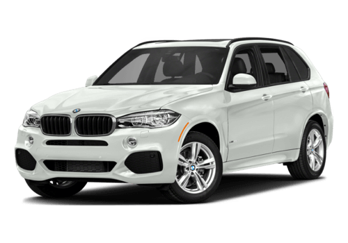2017 BMW X5 white background
