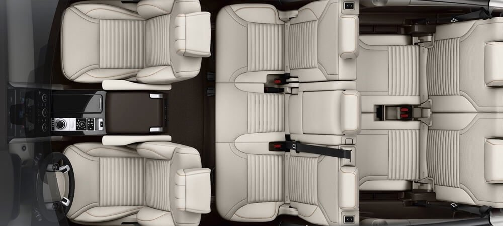 2017 Land Rover Discovery Third Row Seating