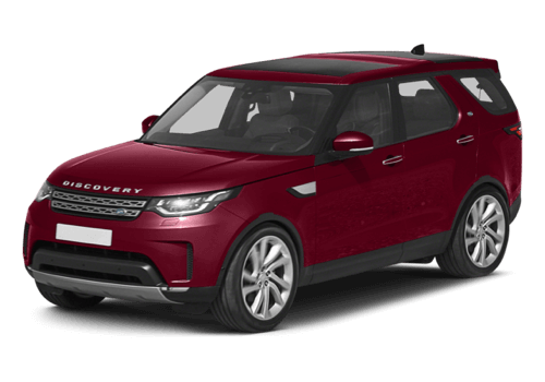 2017 Land Rover Discovery white background
