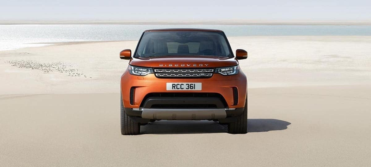 Land Rover Discovery Front Exterior