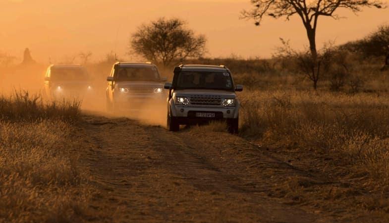 Land Rover Models Off-Roading