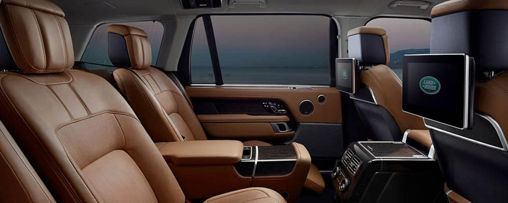 Land Rover Range Rover Leather Seating