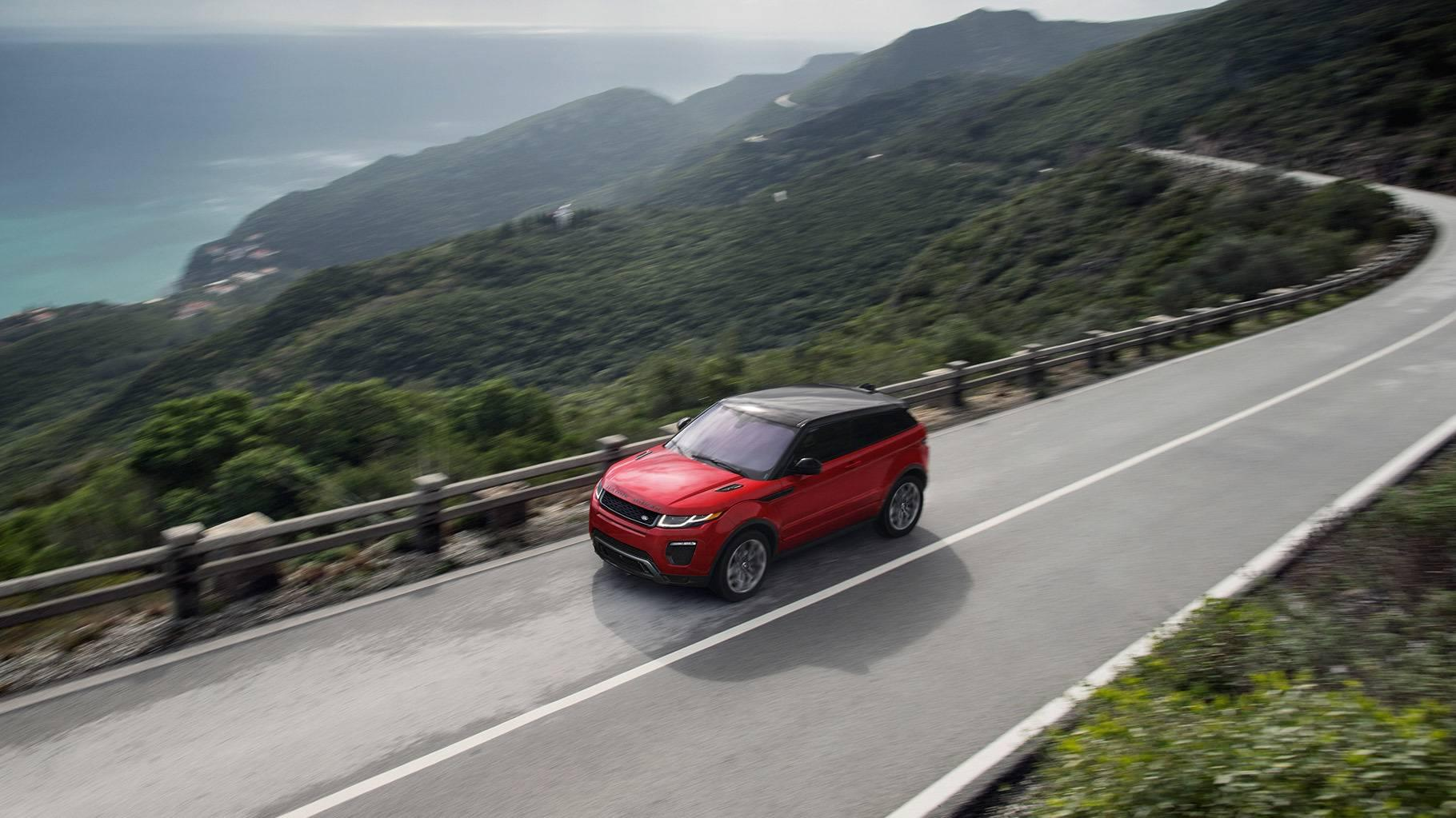 2017 Land Rover Range Rover Evoque Exterior red exterior model