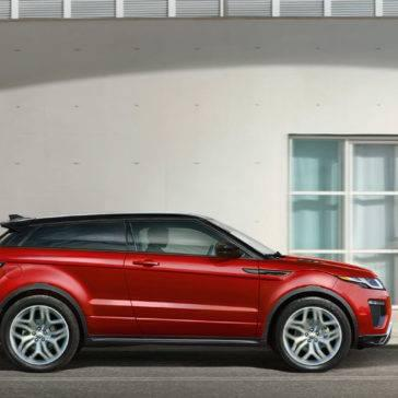 2017 Land Rover Range Rover Evoque Side View