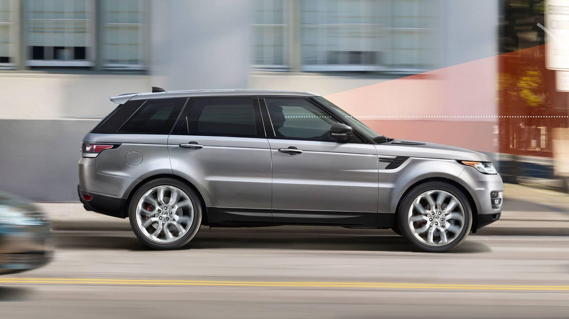 2017 Land Rover Range Rover Sport side view