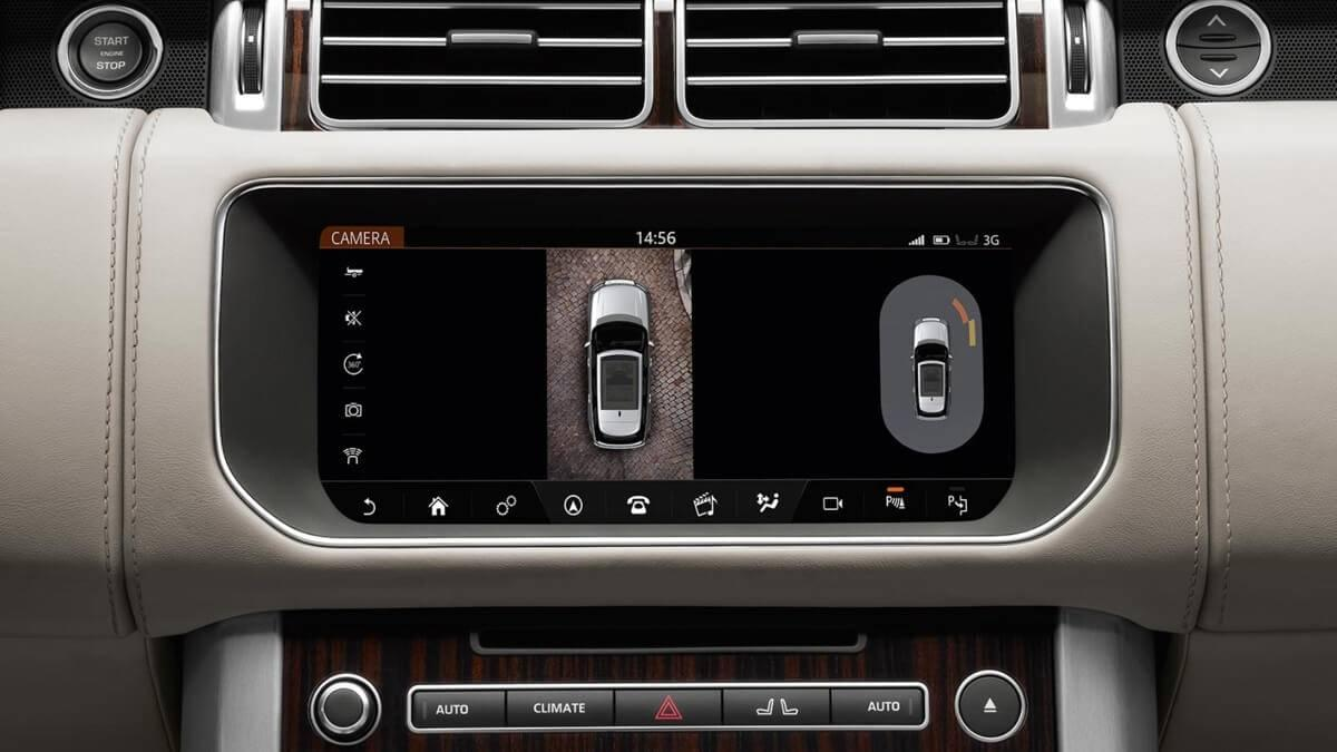 2017 Land Rover Range Rover Technology Features