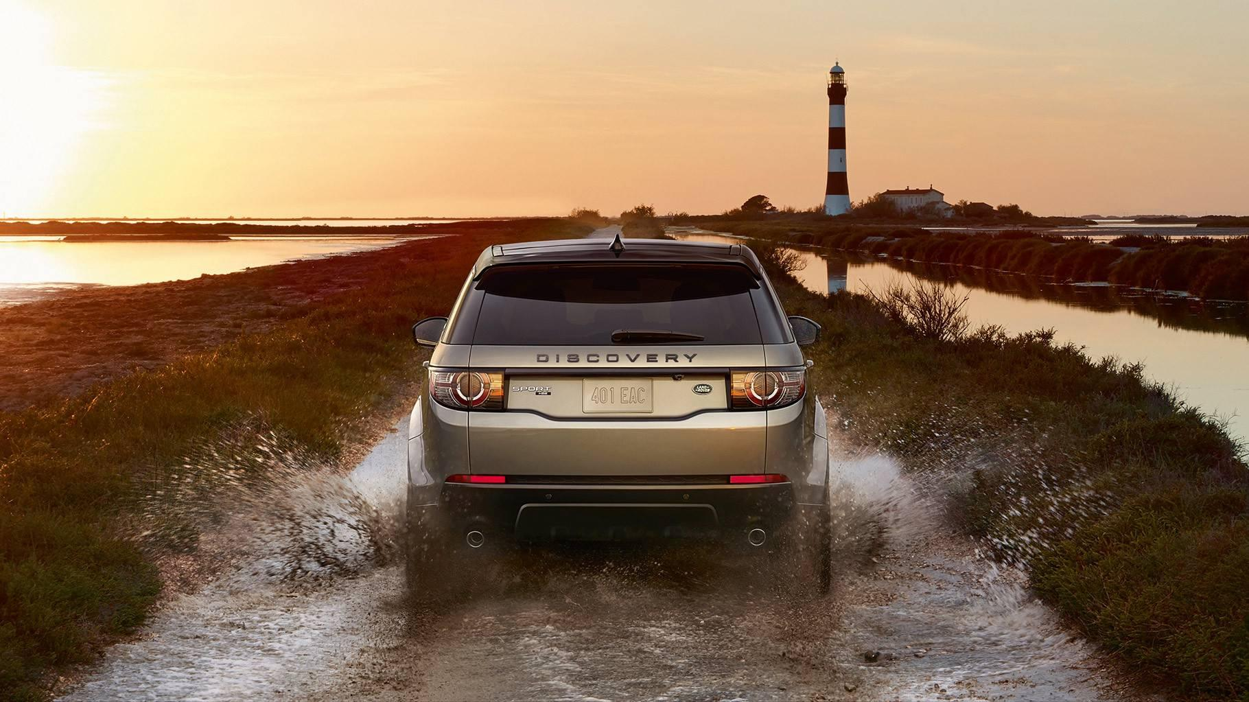 Land Rover Discovery Sport Rear view