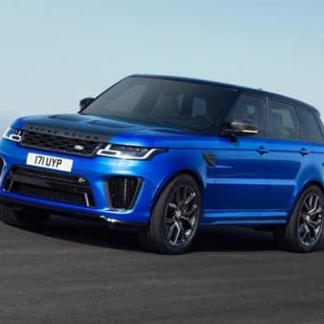 2018 Range Rover Sport blue exterior model