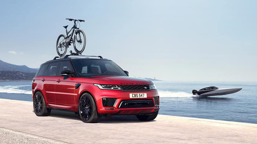 2018 Range Rover Sport front exterior