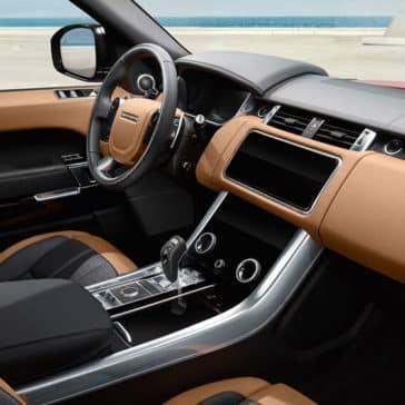 2018 Range Rover Sport front interior