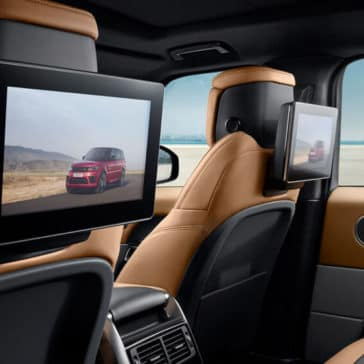 2018 Range Rover Sport interior features