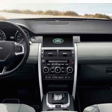 2018 Land Rover Discovery Sport front interior