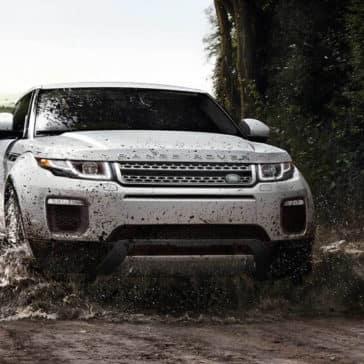 2018 Land Rover Range Rover Evoque front exterior