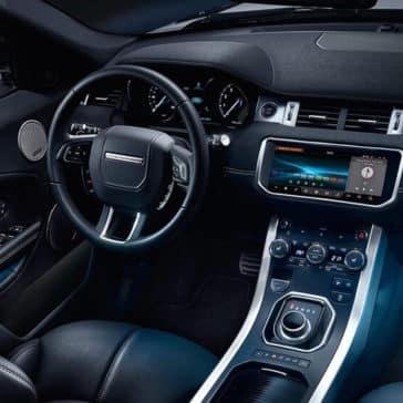 2018 Land Rover Range Rover Evoque front interior