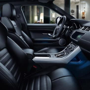 2018 Land Rover Range Rover Evoque interior