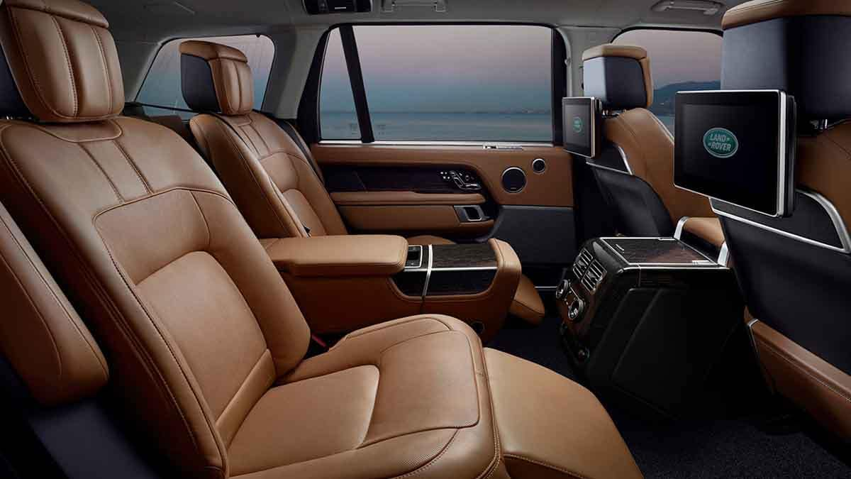 2018 Land Rover Range Rover seating