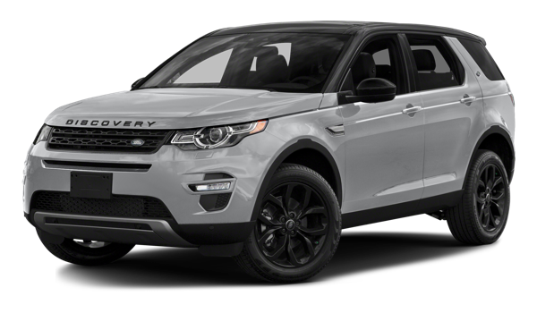 2017 Land Rover Discovery Sport white background