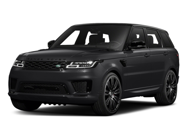 2018 Land Rover Range Rover Sport white background