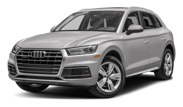2018 Audi Q5 white background